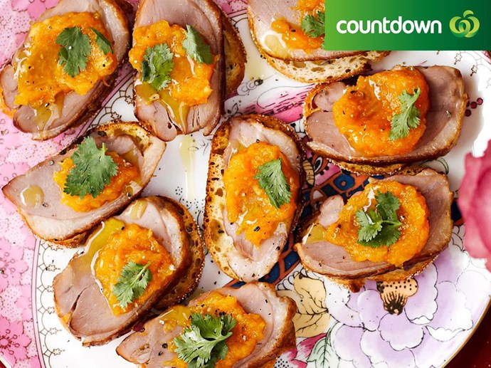 """[Smoked duck breast and mandarin relish](http://www.foodtolove.co.nz/recipes/smoked-duck-breast-and-mandarin-relish-5843 target=""""_blank"""") is perfect for any appetizer"""