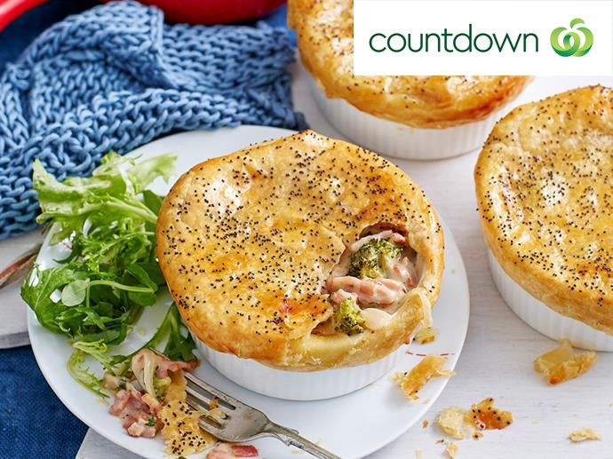 "[Bacon, broccoli and cheese pie](http://www.foodtolove.co.nz/recipes/bacon-broccoli-and-cheese-pie-22622|target=""_blank"") is the ultimate comfort meal"