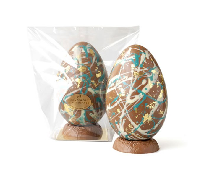 [**Devonport Chocolate graffiti Easter eggs $50**](https://www.devonportchocolates.co.nz/product/1372876) For your urban-minded friends, this graffiti splattered egg is more chic than edgy. Hand-decorated with artisanal chocolate, we'd expect nothing less.