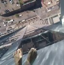 WATCH: Would you swim in this scary glass-bottomed rooftop pool?