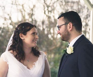 Wedding of the week: Sarah & Daniel Robbins