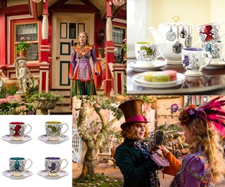 Win an Alice Through The Looking Glass tea set
