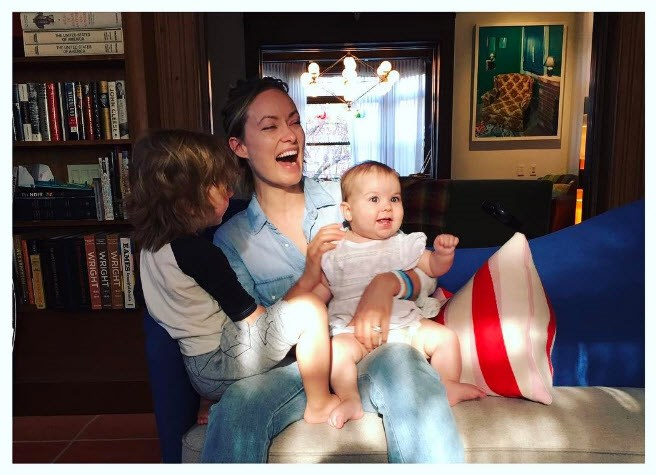 Olivia Wilde celebrates the little people in life.