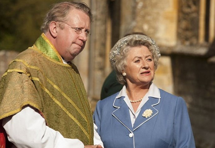 In *Father Brown*.