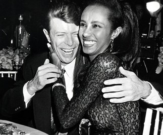 Iman and Bowie