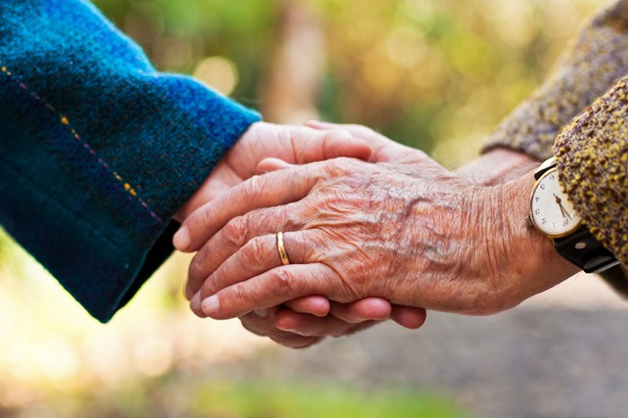 Couple die holding hands after 69 years together