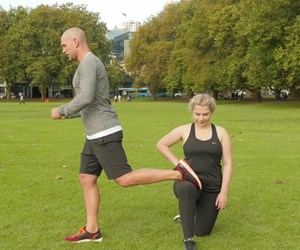 The Real Girls' Guide to Getting Fit: Lunges