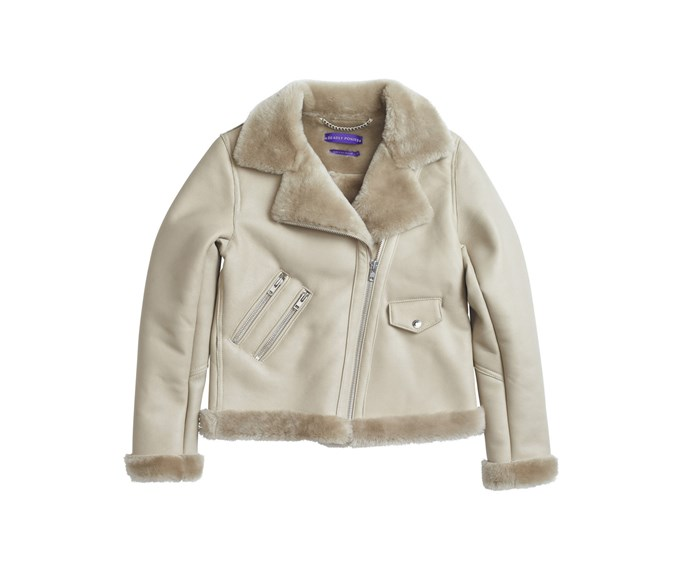 Jacket, $2645, [Deadly Ponies.](https://deadlyponies.com/shop/the-pony-rider-shearling/natural/)