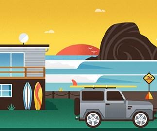 Win an iconic Kiwi print by Greg Straight