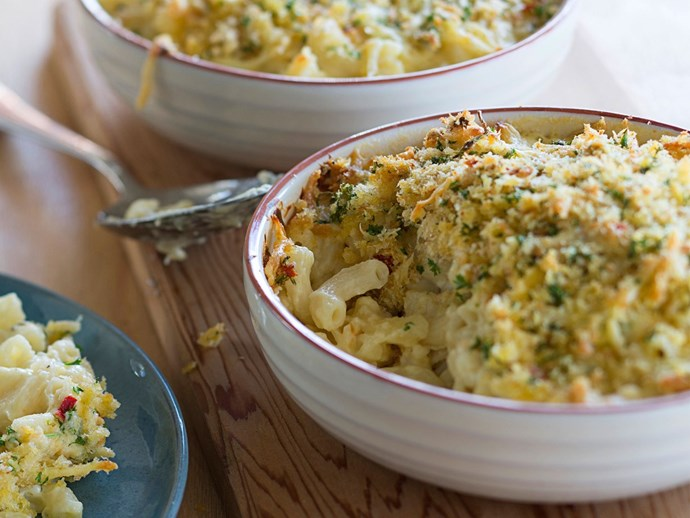 Get the recipe for Posh mac n cheese [here.](http://www.foodtolove.co.nz/recipes/posh-mac-n-cheese-20979)