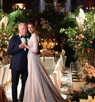Inside this Kiwi rich lister's extravagant wedding