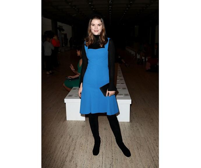 Emma Birdsall attends the Ginger & Smart show.