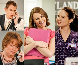 Shortland Street's receptionists through the years