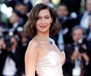 Bella Hadid suffers wardrobe malfunction on Cannes red carpet