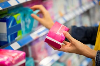 Two high school students are petitioning the government to change how sanitary items are priced.