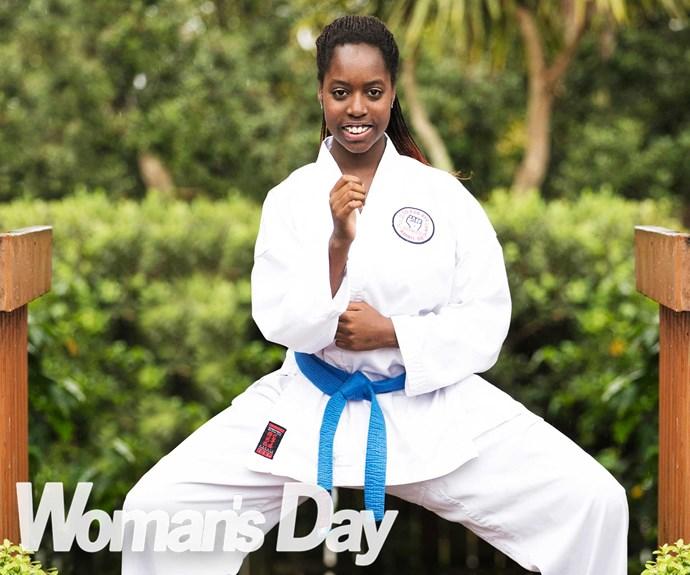 Karate hopeful's heartfelt mission for dad