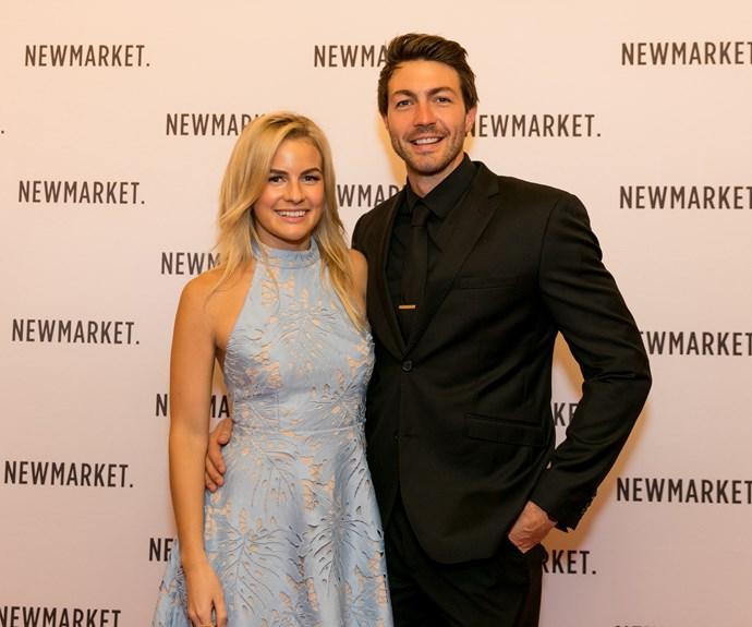 Art Green, Matilda Rice at Newmarket Business Awards 2017