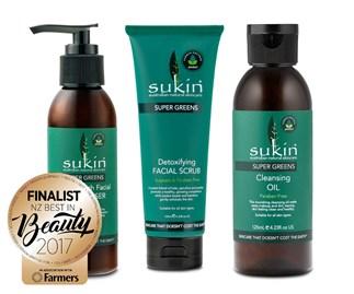 Win the Sukin Super Greens range