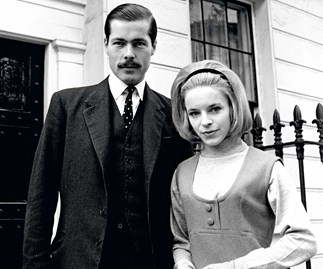 Lord Lucan and Veronica in 1963, the day their engagement was announced. They were separated at the time of the murder.