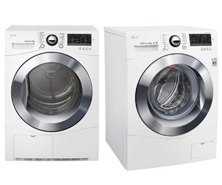 Win a washing machine and dryer combo with LG
