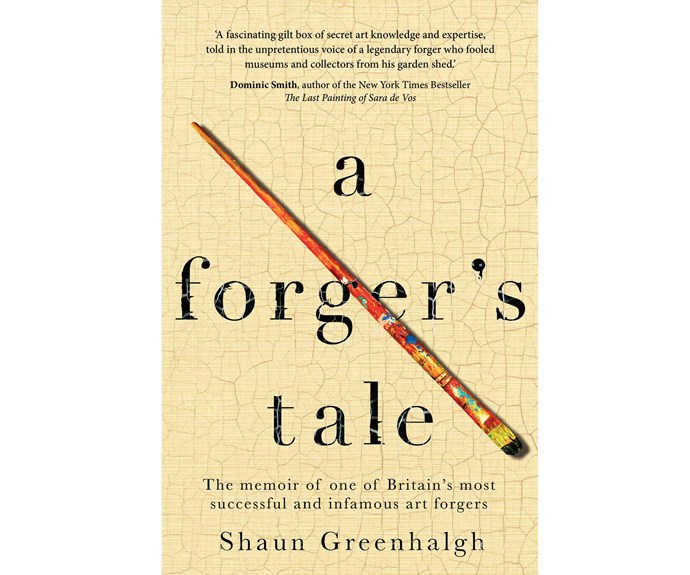 Win the NEXT book of the month August: A Forger's Tale by Shaun Greenhalgh