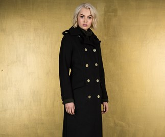 Ruby coat