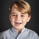 Kensington Palace releases official portrait to celebrate Prince George turning four