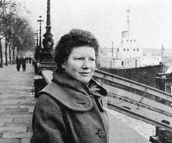 Janet fell in love with London in the early 1960s.