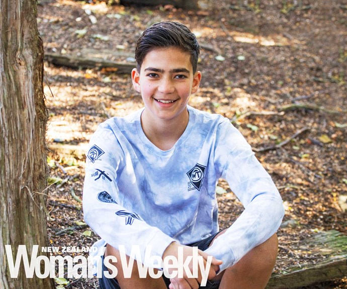 The boy who was diagnosed with arthritis at just 8 years old