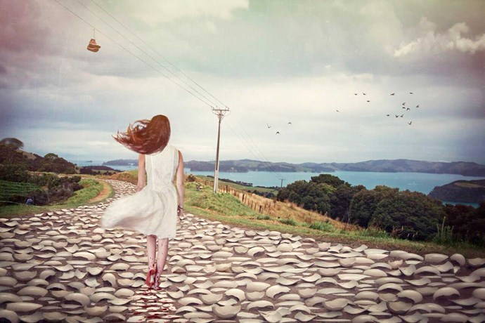 """LW Photographer generously donated her beautiful artwork 'Walking on Eggshells' for the cause. If you wish to get a postcard, head to [backbone.org.nz](https://www.backbone.org.nz/