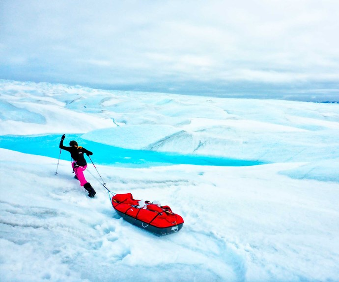 The schoolgirl adventurer who trekked across Greenland