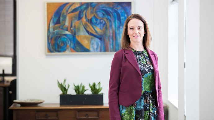 The mother of three who set up her own law firm