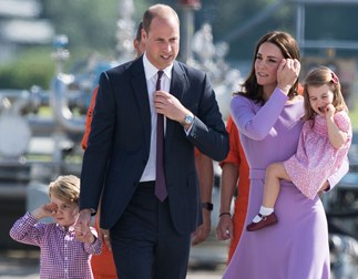 Did Duchess Catherine just reveal the sex of her baby?