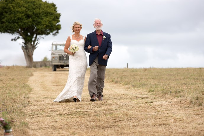 Real-life NZ weddings: Eileen and Alfred Crawford