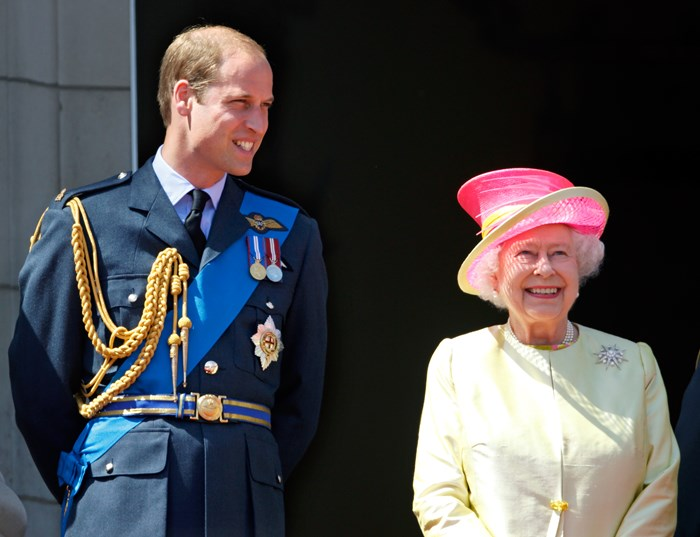 The Queen has been teaching Prince William how to be King