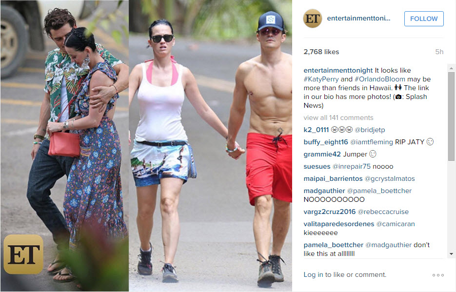 Katy Perry and Orlando Bloom Are Shirtless Vacationing Together — ALERT