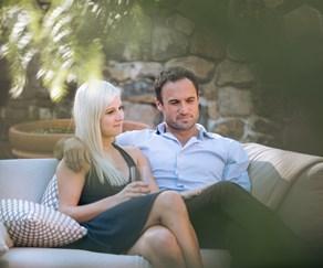 Jordan Mauger and Fleur Verhoeven