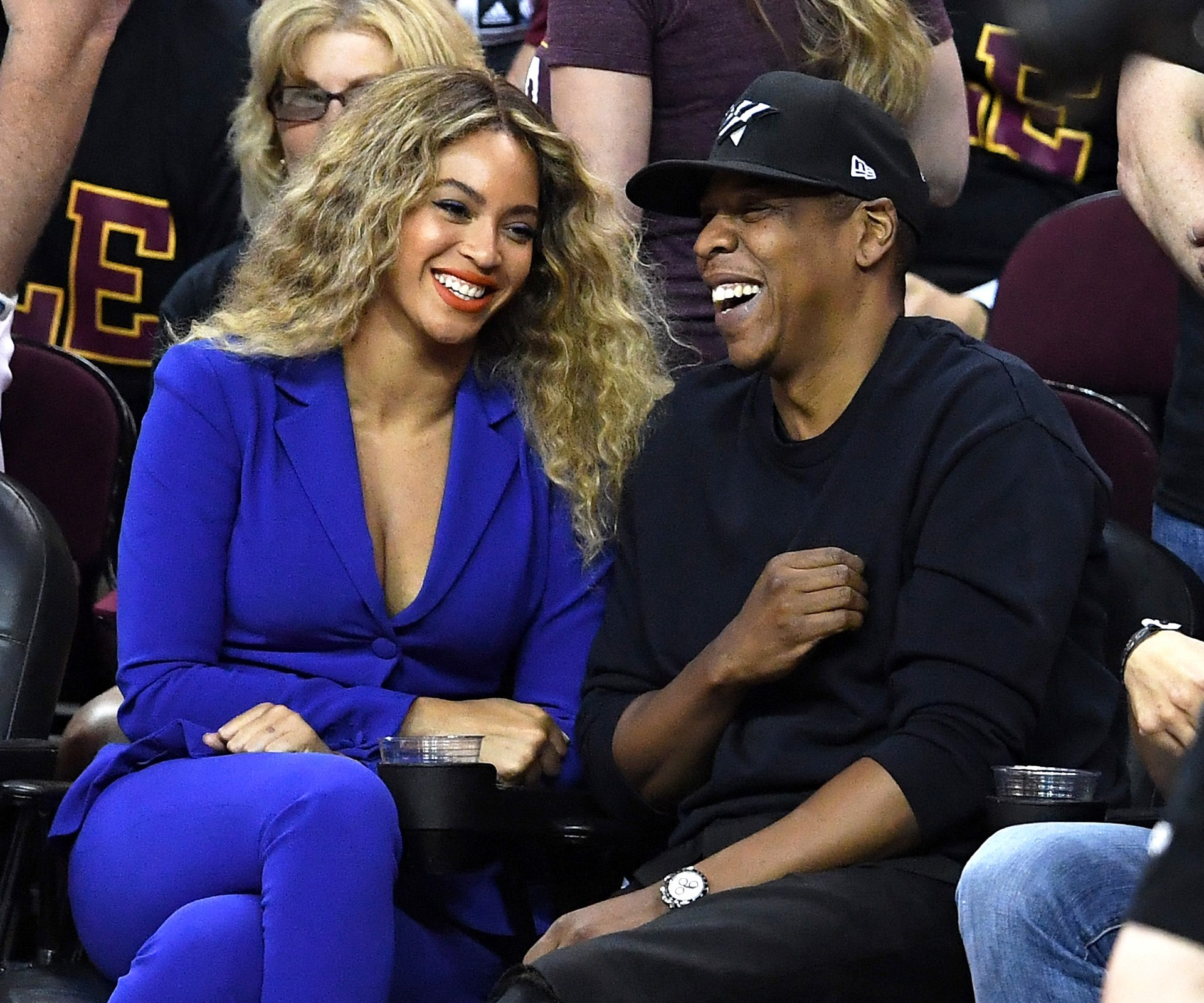 **Beyonce and Jay Z: 12 years** Beyonce, 34, and Jay Z, 46, are undoubtedly the power couple of the music industry and have collaborated together on many hits including 'Crazy in Love', 'Drunk in Love' and 'Bonnie and Clyde'. **See video from their wedding in the next slide**