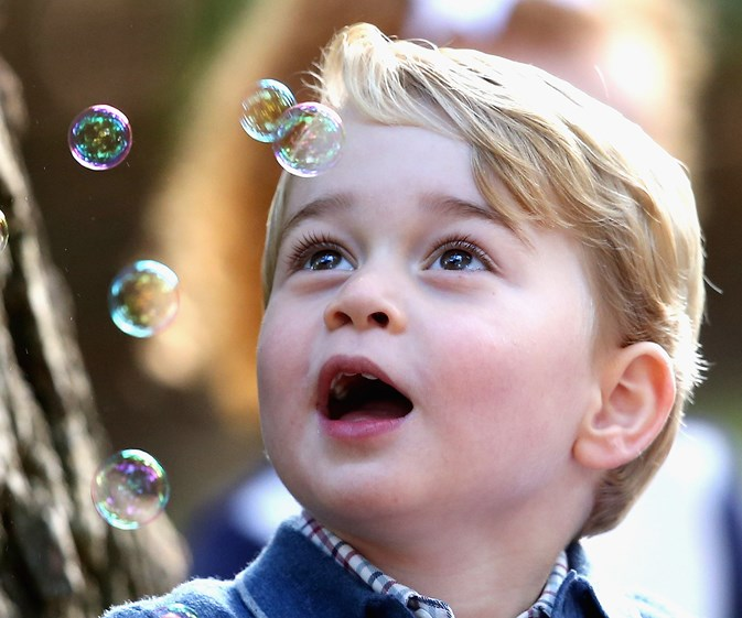 Adorable Prince George and Princess Charlotte's Canadian play date