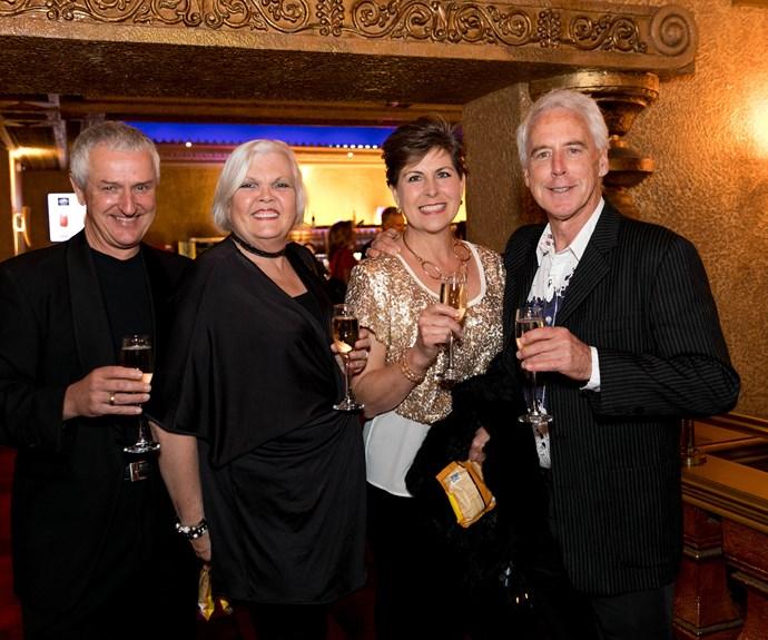 Richard Dyson, Greer Dyson, Karen Hay, Grant Southam. Photo: Carmen Bird