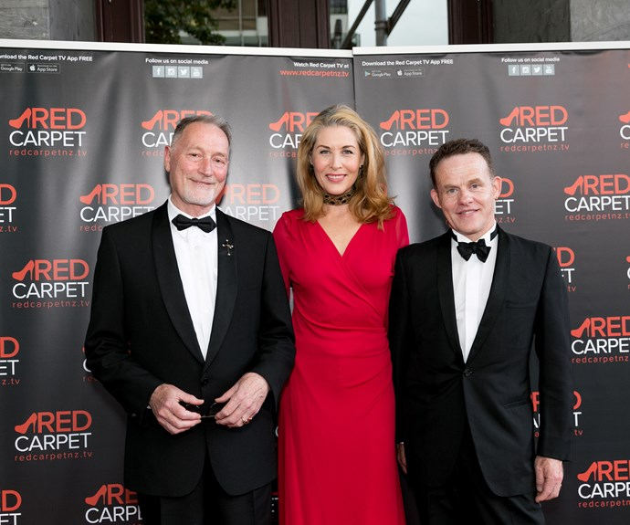 Peter Wells, Jennifer Ward-Lealand, Douglas Lloyd Jenkins. Photo: Carmen Bird
