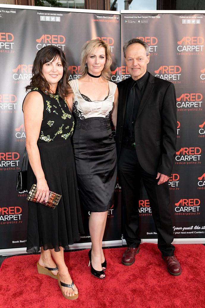 Angela Walker, Lisa Chappell, Bruce Hopkins. Photo: Carmen Bird