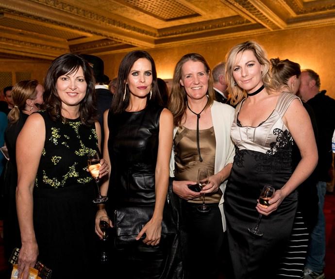 Anglea Walker, Kat Browne, Toni Lusk, Lisa Chappell. Photo: Carmen Bird