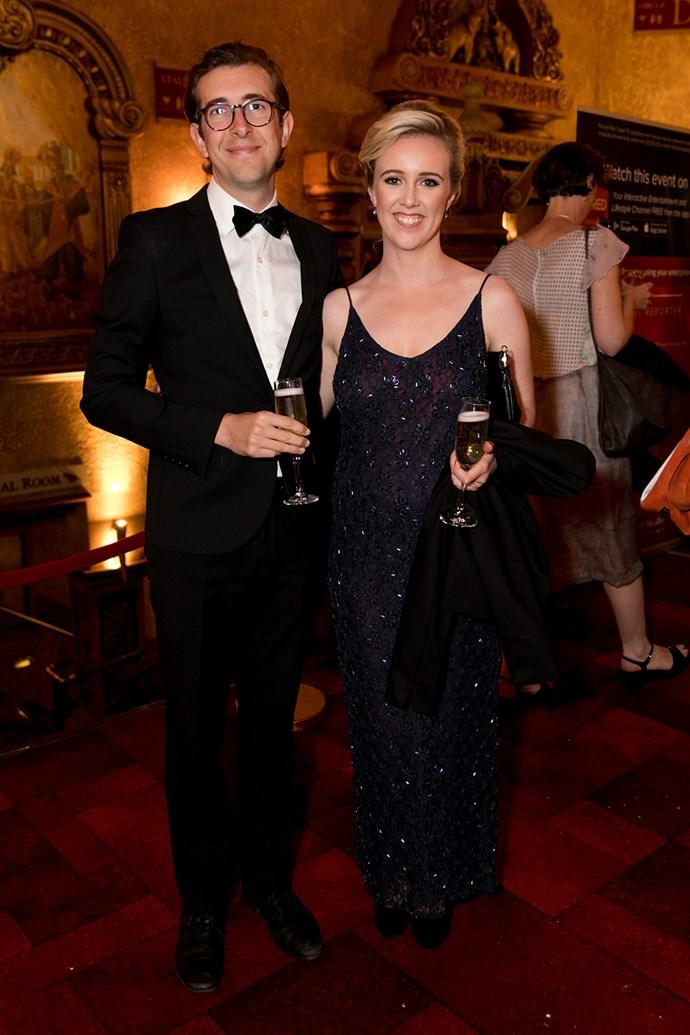 Todd Emerson, Sophie Hambleton. Photo: Carmen Bird