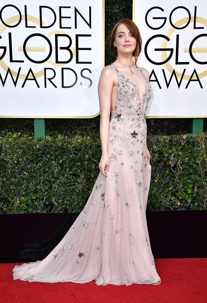 **Best** Emma Stone in star-studded Valentino