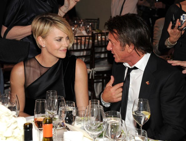 Power couple Charlize Theron and Sean Penn.