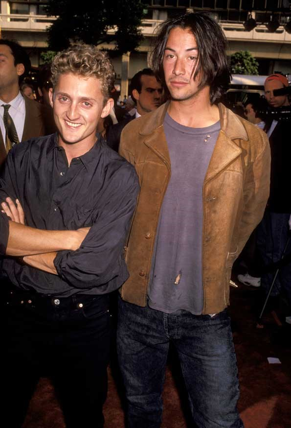 Keanu Reeves and Alex Winter have stayed friends through the years