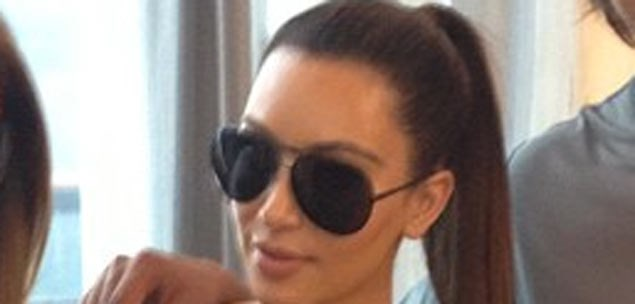 Kim Kardashian spotted leaving cosmetic surgery clinic