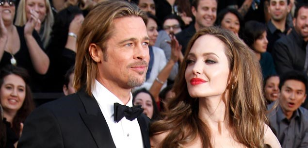 Angelina tells Brad to go on a diet