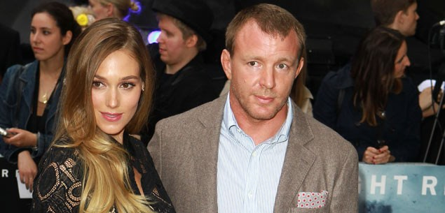 Guy Ritchie is a dad again